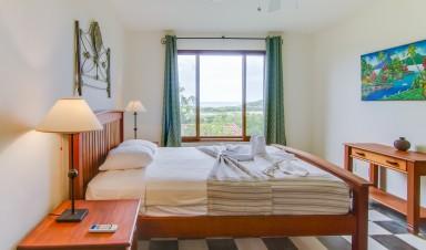 Bedroom at Palermo Hotel and Resort San Juan del Sur, Nicaragua