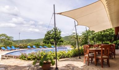 Pool at Villas De Palermo near San Juan del Sur Nicaragua