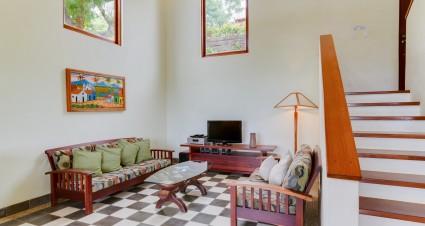 Living room at Palermo Hotel and Resort San Juan del Sur, Nicaragua