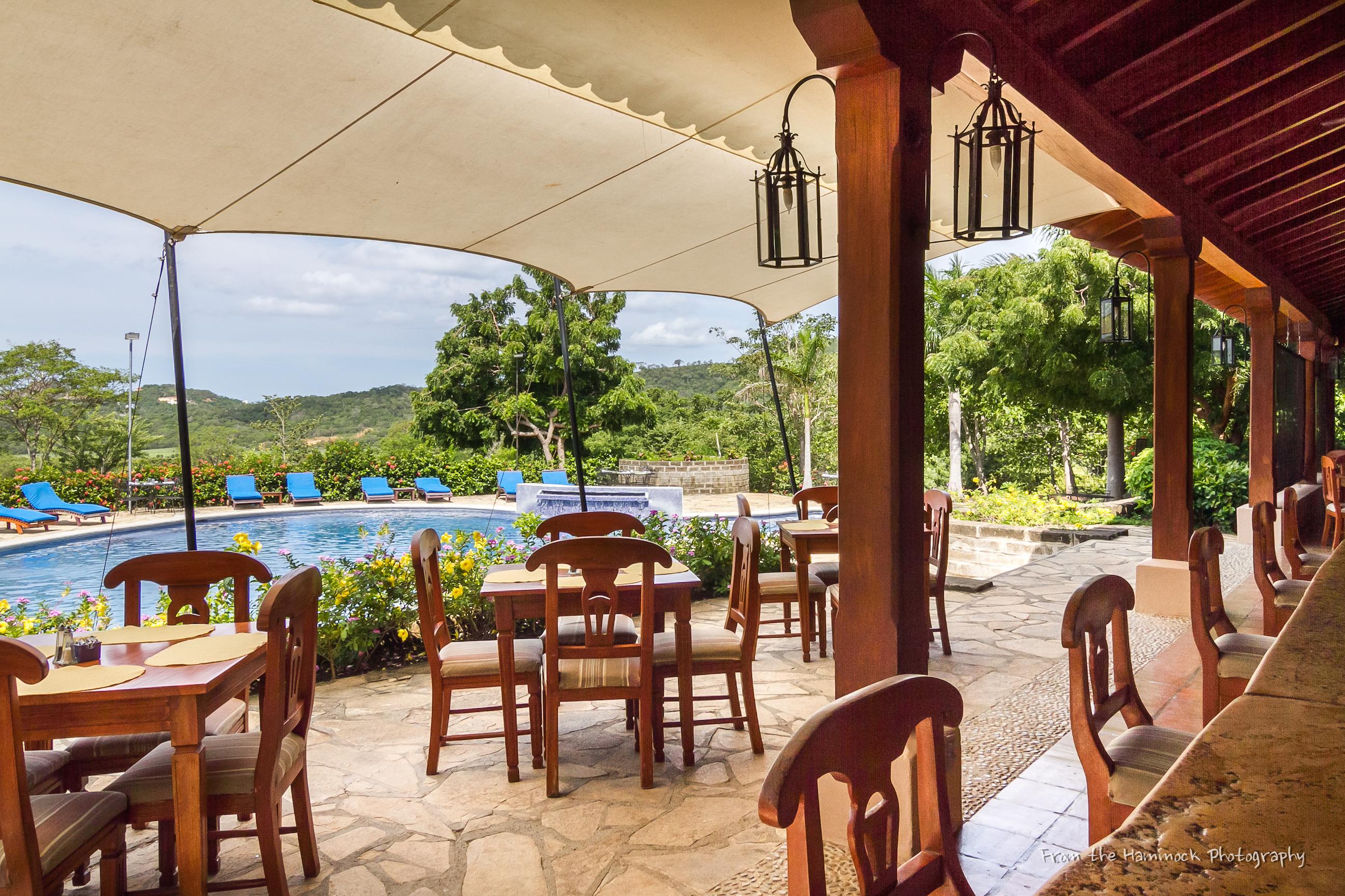 Bar at Palermo Hotel and Resort San Juan del Sur, Nicaragua